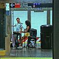 N Y C Subway Scene # 13 by Allen Beatty