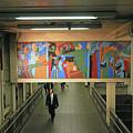 N Y C Subway Scenes # 45 by Allen Beatty