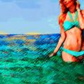Na Praia by Paul Sutcliffe