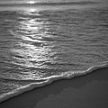 Nags Head First Light Bw by Michael Ver Sprill