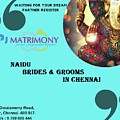 Naidu Brides And Grooms In Chennai by Kpj Matrimony