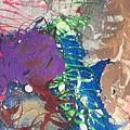 Nail Polish Abstract 15-t11 by Virginia Margarita