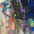 Nail Polish Abstract 15-w11 by Virginia Margarita