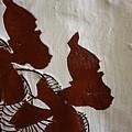 Nakato And Babirye - Twins 2 - Tile by Gloria Ssali