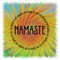 Namaste Divine And Honor Swirl by Terry DeLuco
