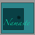 Namaste In Blue by Kandy Hurley