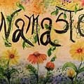 Namaste by Sandra Gallegos