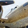 Names Pilots B-17 by Chuck Kuhn