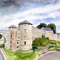 Namur, Citadelle Et Pont Des Hollandais by Jean-Michel Rousseau