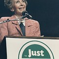 Nancy Reagan Speaking At A Just Say No by Everett