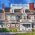 Nantucket Architecture Series 28 by Carlos Diaz