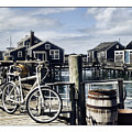 Nantucket Bikes 1 by Tammy Wetzel