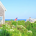 Nantucket Cottages Overlooking The Sea by Images By Stephanie