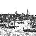 Nantucket Harbor  by Dan Moran