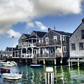Nantucket Harbor In Summer by Tammy Wetzel
