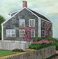 Nantucket Roses by Ronald Dill