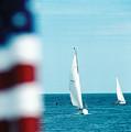 Nantucket Sailing by Steve Somerville