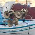 Naoussa Boat Paros Island Greece  by Colette V Hera  Guggenheim