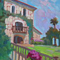 Napa Valley Winery by Diane McClary