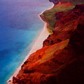 Napali Coast by Heather Kirk