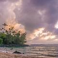 Napali Sunset by Dustin Pomeroy
