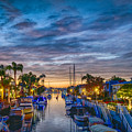 Naples Canal Christmas 6 by David Zanzinger