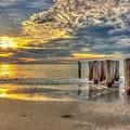 Naples Florida Sunset by Stan Dzugan
