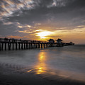 Naples Pier At Sunset - Florida, United States - Travel Photography by Giuseppe Milo