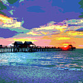 Naples Pier Florida by Charles Shoup