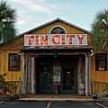 Naples Tin City - Open For Business by Ronald Reid