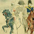 Napoleon Bonapart by Henri De Toulouse Lautrec