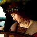 Narcissus Detail by Follower of Giovanni Antonoio Boltraffio