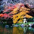 Naritasan Temple Garden by Patti Bean