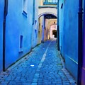 Narrow Blue Passage  by Tatiana Travelways