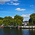Narrow Boats At Stratford-upon-avon by Jeremy Hayden