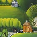 Narrow Foothills by John Deecken