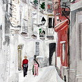 Narrow Street by Cathy Jourdan