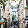 Narrow Streets Of The Latin Quarter In Paris, France by Shaun McDonald