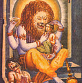 Narsimhavatar Water-color Painting,hindu Mythology,beautiful Artwork. by A K Mundra