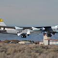 Nasa Boeing Nb-52b Stratofortress With Hyper X by Brian Lockett