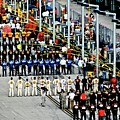 Nascar Line Up by Dale Chapel