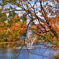 Nashua River Water Fountain - Nashua Nh by Joann Vitali