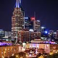 Nashville At Night by Kristen Wilkinson