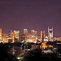 Nashville Night Scene by Douglas Barnett