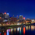 Nashville Skyline by Photography by Laura Lee