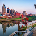 Nashville Skyline - Square Format by Gregory Ballos