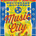 Nashville Tennessee Poster by Jim Zahniser