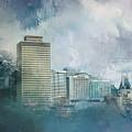 Nashville Tennessee Skyline by Jai Johnson