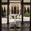 Nasrid Palaces Alhambra Granada Spain Europe by Mal Bray