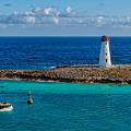 Nassau Harbor Lighthouse by Christopher Holmes